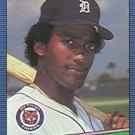 1986 Donruss 272 Nelson Simmons RC