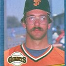 1986 Donruss 309 Scott Garrelts