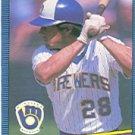1986 Donruss 368 Rick Manning