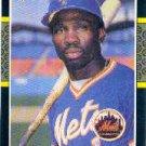 1987 Donruss #487 Mookie Wilson