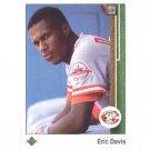 1989 Upper Deck 410 Eric Davis