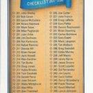 1991 Upper Deck 300 Checklist 201-300