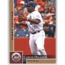 2009 Upper Deck First Edition #189 Carlos Delgado
