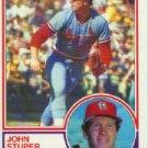 1983 Topps #363 John Stuper - St. Louis Cardinals (Baseball Cards)