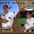 1999 Topps 441 Brad Lidge/Mike Nannini RC