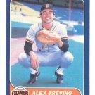 1986 Fleer 550 Alex Trevino