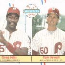 1988 Fleer 648 Tom Newell and/Greg Jelks RC