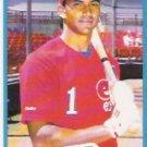 1990 Fleer 353B Dave Martinez Red