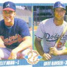 1990 Fleer 642 Kelly Mann/Dave Hansen RC