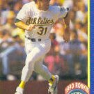 1990 Score 598 Scott Hemond RC