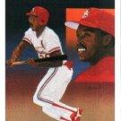 1990 Upper Deck 68 Vince Coleman TC UER/(Guererro)