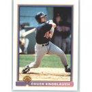 1991 Bowman 330 Chuck Knoblauch