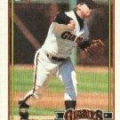 1991 Topps 17 Jeff Brantley