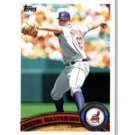 2011 Topps #544 Justin Masterson