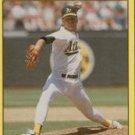 1991 Fleer 28 Curt Young
