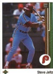 1989 Upper Deck 219 Steve Jeltz