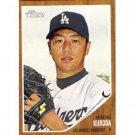 2011 Topps Heritage #280 Hiroki Kuroda