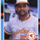 1988 Donruss 601 Jose Mesa RC