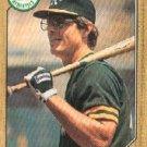 1987 Topps 496 Bruce Bochte