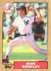 1987 Topps 524 Bob Shirley