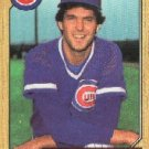 1987 Topps 534 Scott Sanderson
