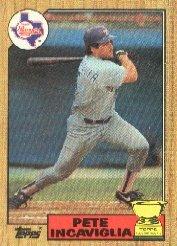 1987 Topps 550 Pete Incaviglia