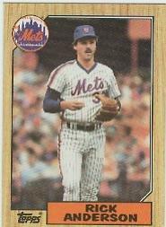 1987 Topps 584 Ron Kittle