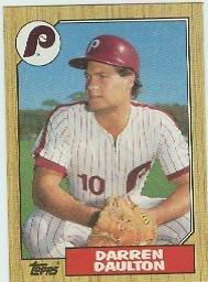 1987 Topps 636 Darren Daulton