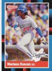 1988 Donruss 155 Mariano Duncan
