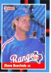 1988 Donruss 224 Steve Buechele