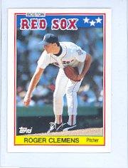 1988 Topps UK Minis #15 Roger Clemens