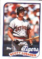 1989 Topps 487 Scott Lusader