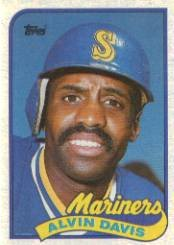 1989 Topps 687 Alvin Davis