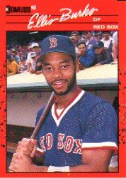 1990 Donruss 228 Ellis Burks