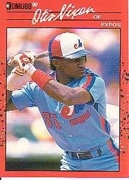 1990 Donruss 456 Otis Nixon