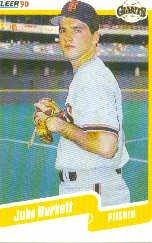 1990 Fleer Update #61 John Burkett