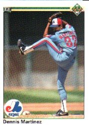 1990 Upper Deck 413 Dennis Martinez
