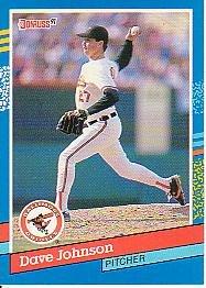 1991 Donruss 126 Dave Johnson