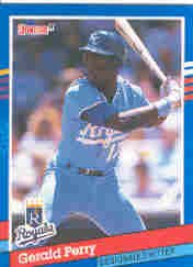 1991 Donruss 130 Gerald Perry