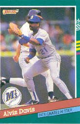 1991 Donruss 482 Alvin Davis