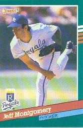 1991 Donruss 505 Jeff Montgomery