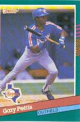 1991 Donruss 512 Gary Pettis