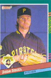 1991 Donruss 532 Zane Smith