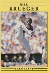 1991 Fleer 588 Bill Krueger
