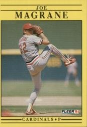 1991 Fleer 638 Joe Magrane
