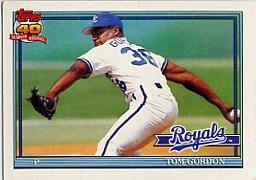 1991 Topps 248 Tom Gordon
