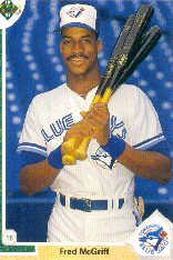 1991 Upper Deck 565 Fred McGriff