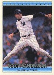 1992 Donruss #227 Scott Sanderson