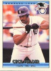 1992 Donruss 27 Cecil Fielder AS