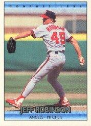 1992 Donruss 59 Jeff D. Robinson